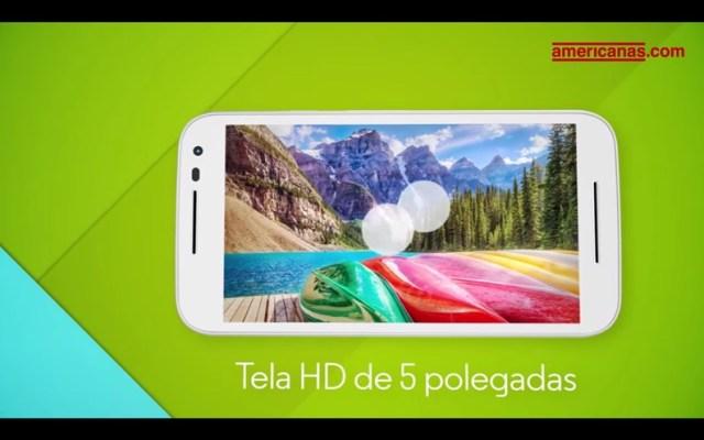 Moto G 2015 tela HD