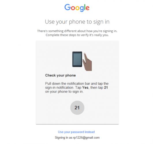 google-sem-senha