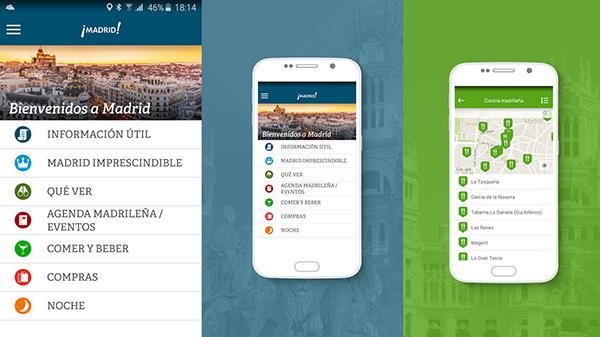 Guía de Madrid app