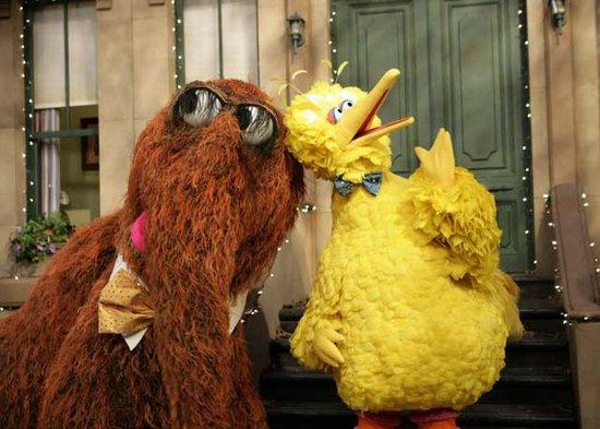 Snuffleupagus and Big BirdImage Courtesy of Google Images