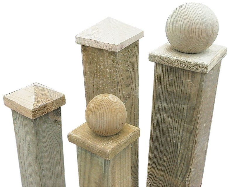 Large Of Wooden Fence Post