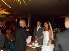 Foto do momento da cerimônia com Túlio de Pinho