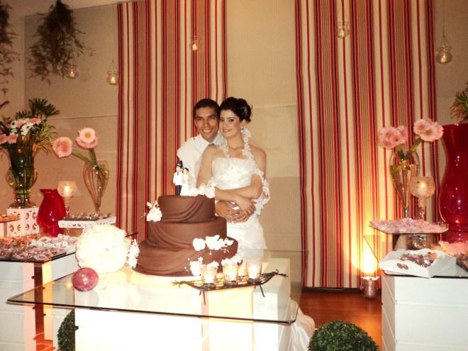 Foto excelente noivos Ulisses e Fabiana