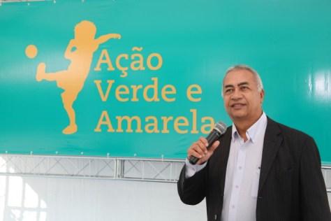 Foto Túlio de Pinho durante apresentação no evento. (foto de Studio Okada de Itaguaí-RJ)