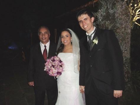 Foto Túlio e os noivos Luciana e Raphael 30.8.13, boa