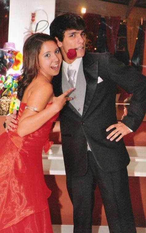 Foto debutante Thamires Lopes com Hugo