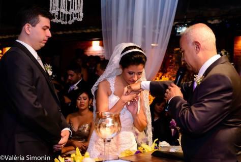 foto emoção benção do pai casamento thais filha
