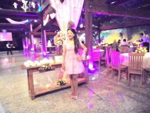 foto debutante Natalia Santos