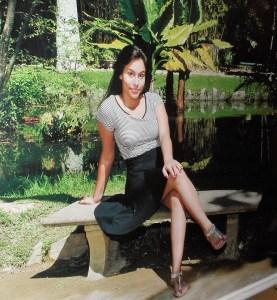 Foto do banner da debutante Ana Luisa na entrada da casa de festas Zig Zag.
