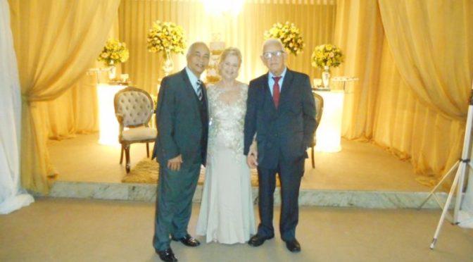 Celebrando bodas de ouro na Iris Cristal, Bangu,RJ