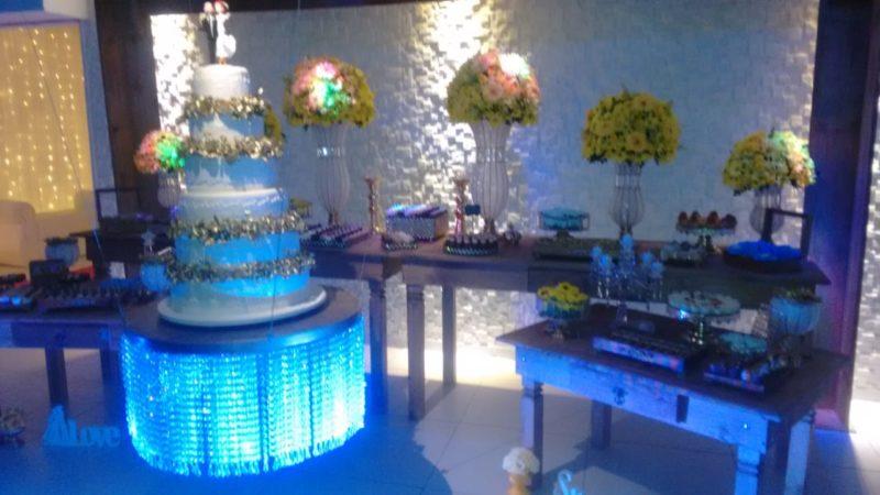 Cerimonial completo de casamento em Casa de festas W Eventos-RJ.