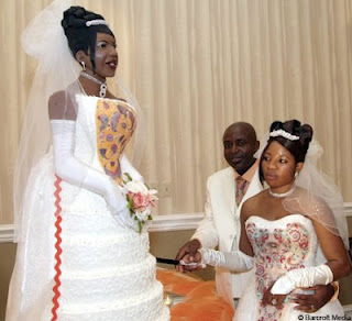 Meet The Cake That Looks Just like the Bride