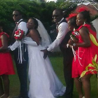 Photo: See What This Guy Did To A Bride On Her Wedding Day