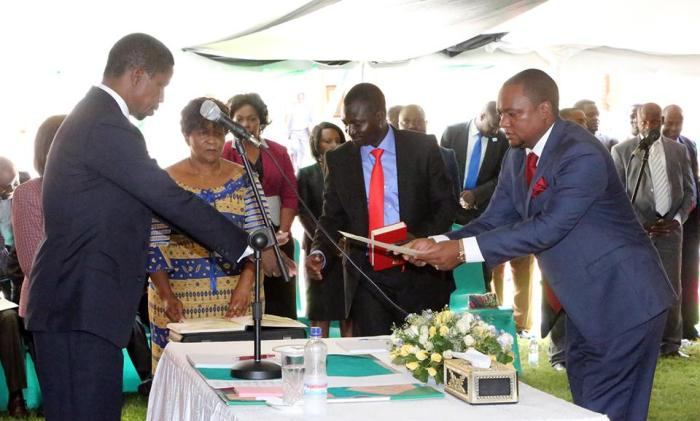Sampa: 50% Of Lungu's Cabinet Are Loyal To Me