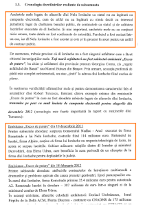 Oana Stancu cronologie