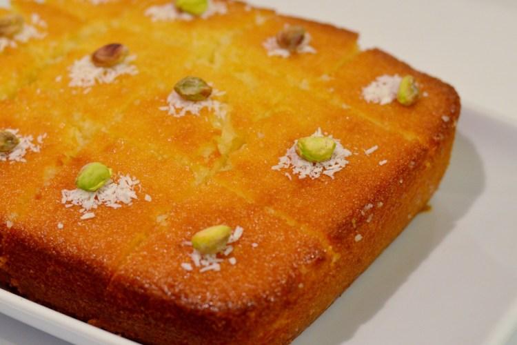 REVANİ, czyli tureckie ciasto zkaszy mannej