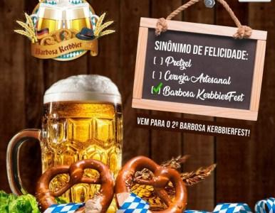 2º Barbosa Kerbbierfest visa homenagear a cultura alemã do Município