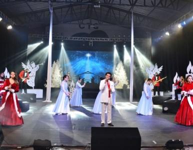 Abertura oficial do Natal contou com espetáculo Celebration