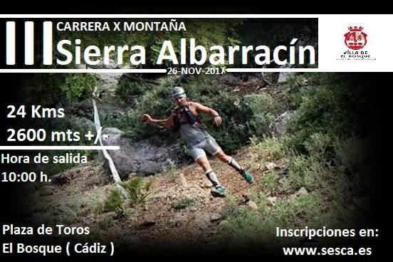 cxm Sierra Albarracín 2017