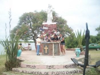 Virgen de los pescadores en La Charqueada