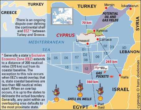 turkey israel oil gas fields