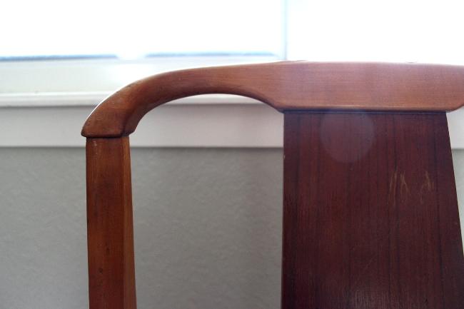 Broken Chair Top Corner
