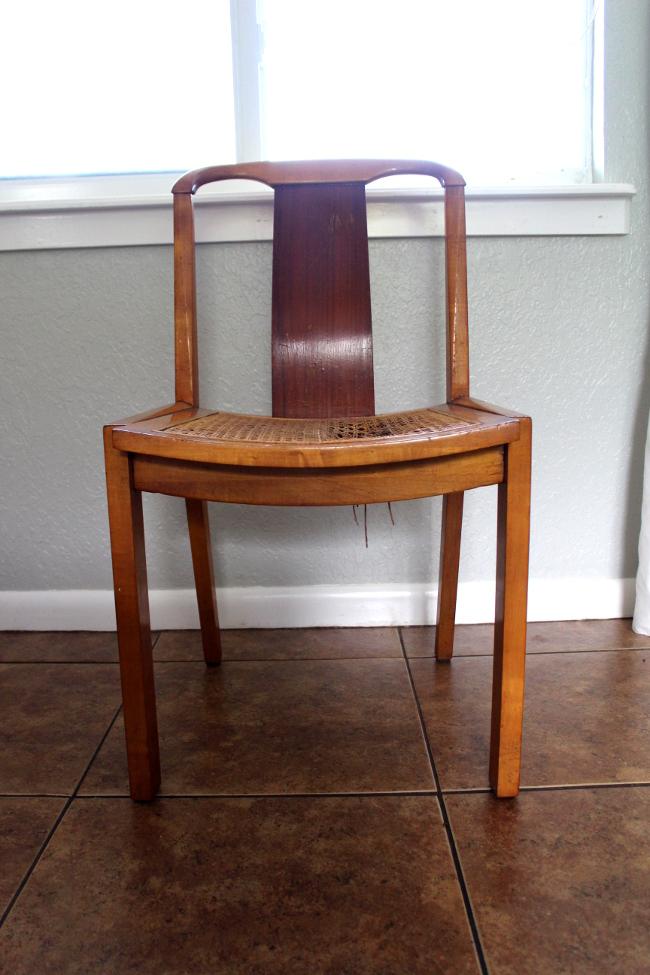 Broken Chair Front