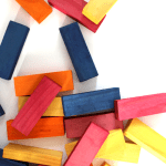 DIY Colorful Jenga Blocks