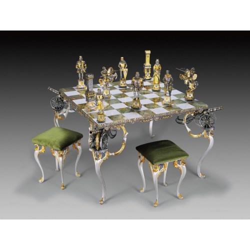 Medium Crop Of Medieval Chess Set