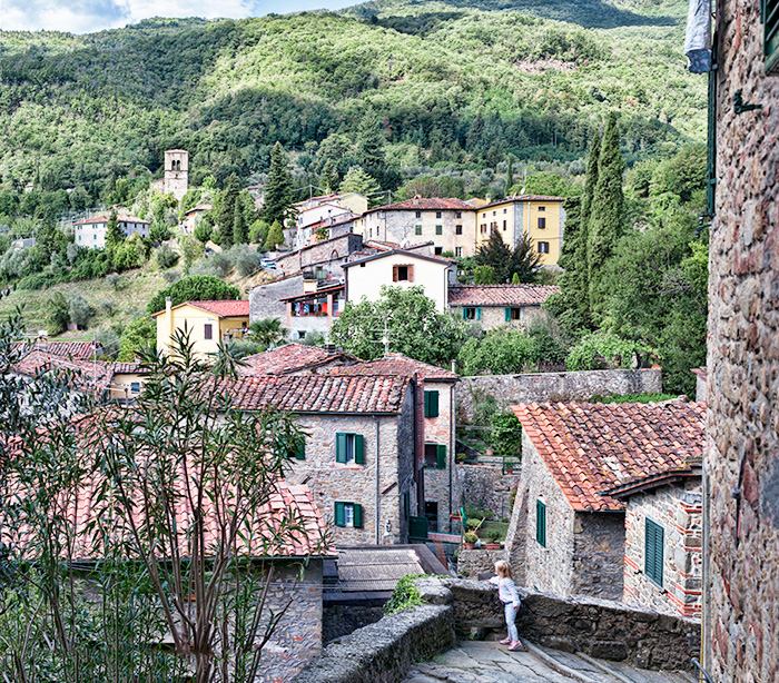 Castelvecchio Village in Tuscany