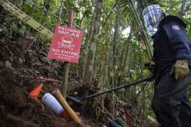 10.000 personas trabajarán en proceso de desminado en Colombia