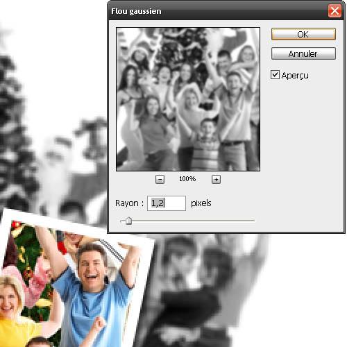Tutorial photoshop cs4 Attirer l'attention du spectateur sur une partie de l'image