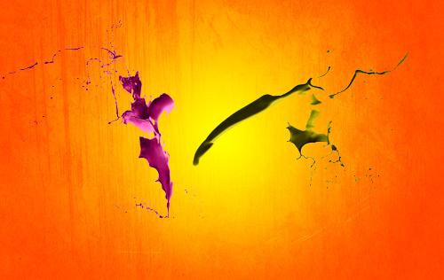 Une superbe composition colorée avec Photoshop