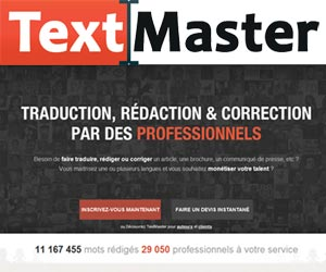 TextMaster : service de traduction, rédaction et correction