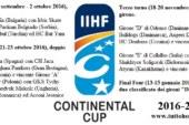 Qui Continental Cup: il programma della stagione 2016-2017