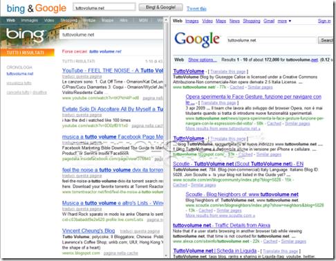bing & google