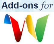 Add-on for google wave