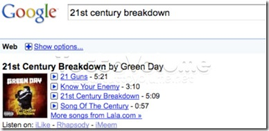 Google Discovery Music
