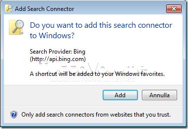 Installa Connettore Federated Search