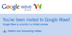 Invito Google Wave