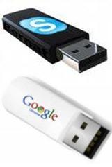 Skype 4 e Chrome 3 portable