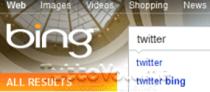 Twitter Search Bing