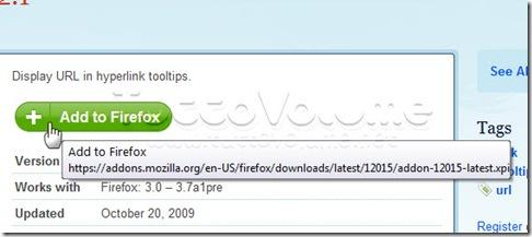 URL Tooltip