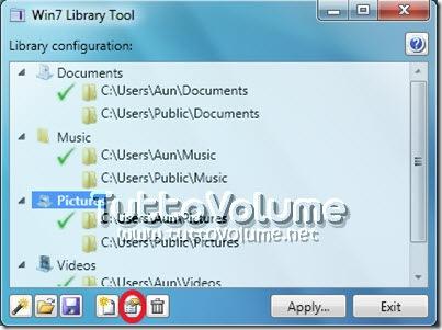 Gestione Librerie Windows 7