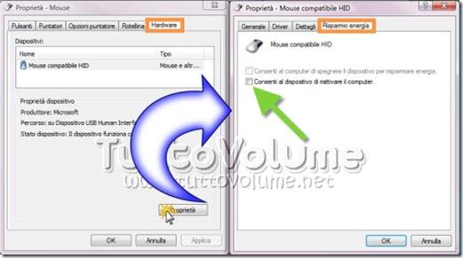 Impostazioni Mouse Windows Vista
