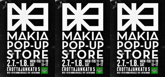 Makia Pop Up Store -