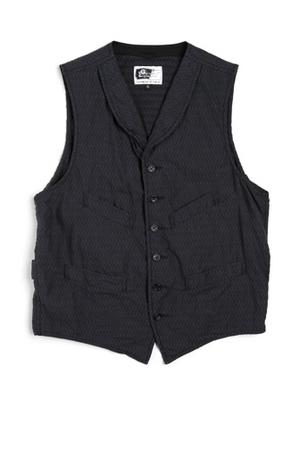 Engineered Garments Shawl Collared Cinch Vest
