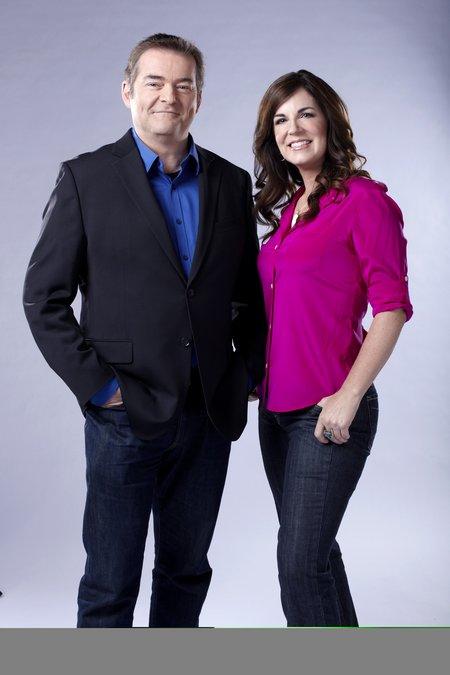 Erica Johnson and Tom Harrington of Marketplace on CBC TV - studio HighRes