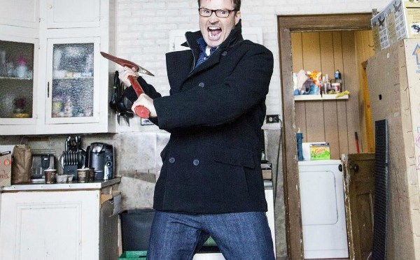 Comedian Steve Patterson aims for laughs in HGTV's latest reno show