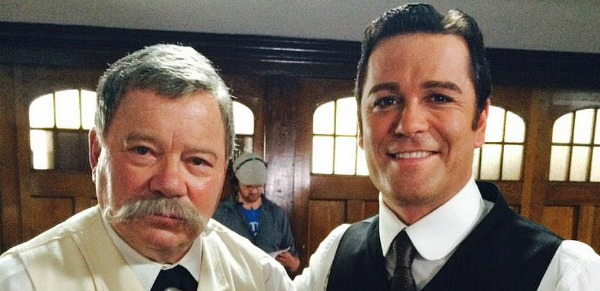 William Shatner lands Murdoch Mysteries role